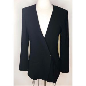 Club Monaco black wrap blazer
